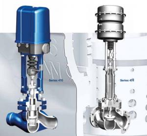 STEVI Pro (straightway valves, Series 470/471/422/462)